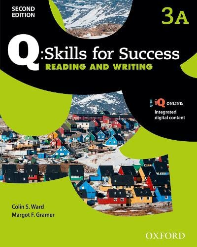 9780194820639: Q Skills for Success: Level 3: Reading & Writing Students Book Split a with IQ Online