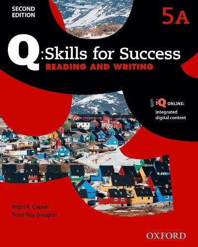 9780194820790: Q Skills for Success: Level 5: Reading & Writing Split Student Book A with iQ Online