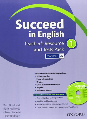 9780194844093: Succeed In English 1: Teacher's Resource & Test Pack