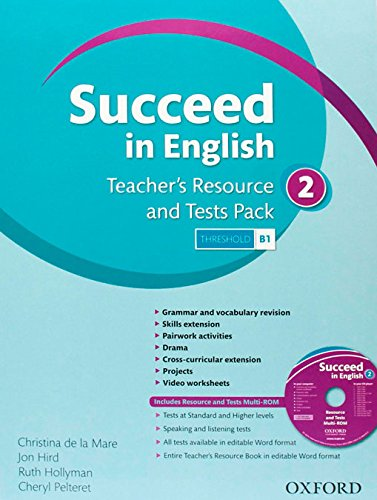 9780194844130: Succeed In English 2: Teacher's Resource & Test Pack