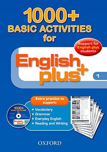 9780194847841: English Plus 1: Basic Activities 1000+