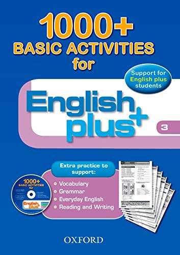9780194847865: English Plus 3: Basic Activities 1000+