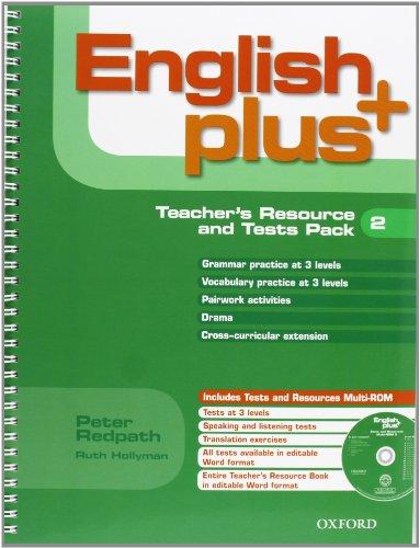 9780194848602: English Plus 2: Teacher's Resource Book & Test Pack (ES) - 9780194848602