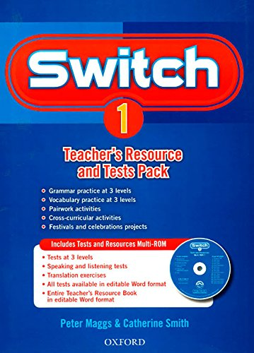 9780194848824: Switch 1: Teacher's Resource Book & Tests Pack (Es)