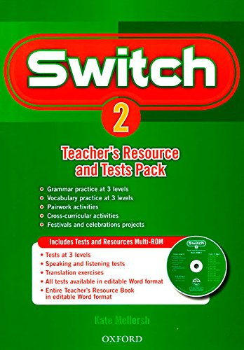 9780194848978: Switch 2: Teacher's Resource Book & Tests Pack (Es)