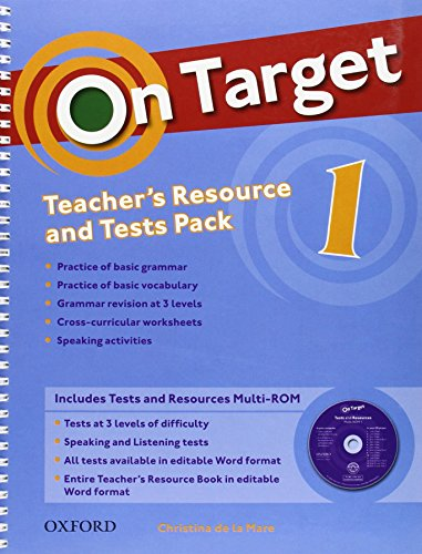 9780194850322: On Target 1: Teacher's Resource Pack & Test Pack (Es)