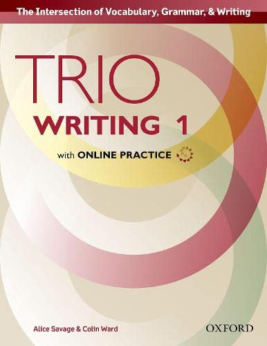 9780194854009: Trio Writing Level 1 Student Book with Online Practice