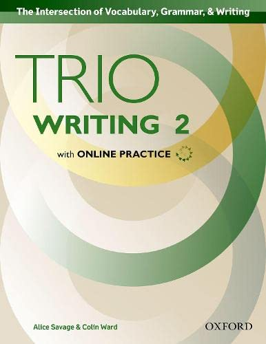9780194854115: Trio Writing Level 2 Student Book with Online Practice