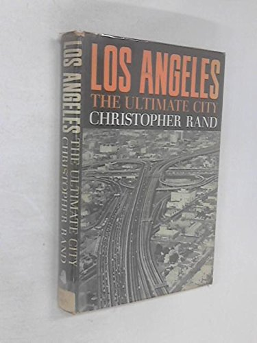 9780195000719: Los Angeles, The Ultimate City