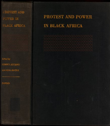 9780195000931: Protest and Power in Black Africa