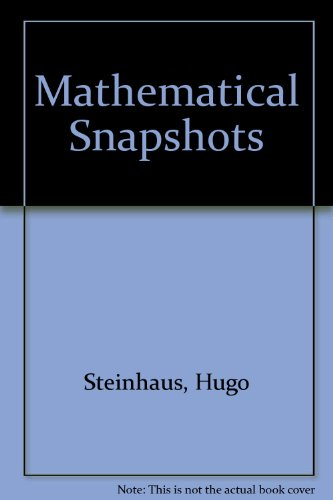 9780195001174: Mathematical Snapshots