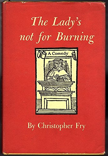 9780195001570: Lady's Not for Burning