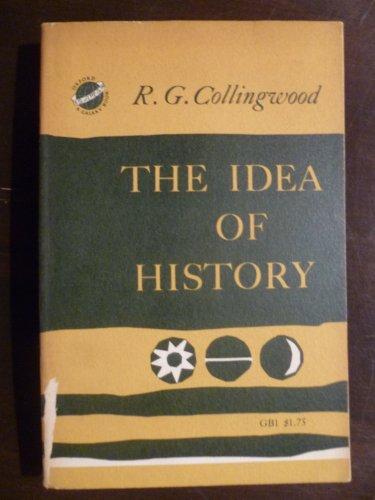 9780195002058: Idea of History (Galaxy Books)