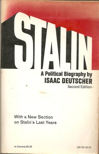 Stalin: A Political Biography (Galaxy Books): Deutscher, Isaac