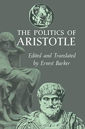 9780195003062: The Politics of Aristotle