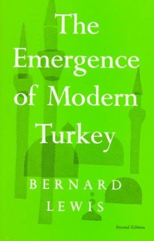 9780195003444: The Emergence of Modern Turkey