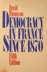 9780195003789: Democracy in France Since 1870.