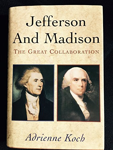 9780195004205: Jefferson & Madison