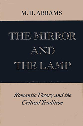 9780195004656: The Mirror And the Lamp: Romantic Theory And the Critical Tradition