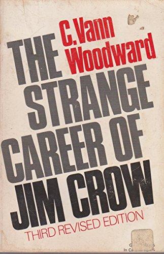9780195006780: The Strange Career of Jim Crow (Galaxy Books)