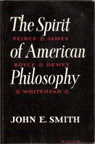9780195007312: Spirit of American Philosophy (Galaxy Books)