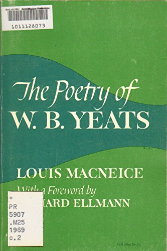 9780195007824: The Poetry of W. B. Yeats.