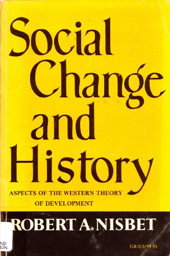 9780195008050: Social Change and History
