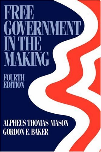 9780195009637: Free Government in the Making: Readings in American Political Thought