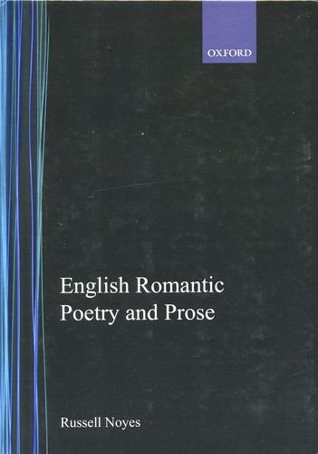9780195010077: English Romantic Poetry and Prose