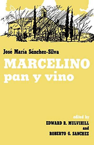 Marcelino Pan y Vino: Sanchez-Silva, Jose Maria