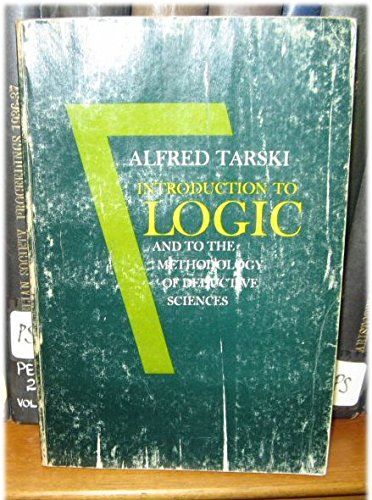 9780195010763: Introduction to Logic and to the Methodology of Deductive Sciences