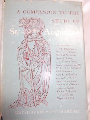 9780195011555: A Companion to the Study of St. Augustine