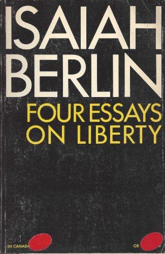 9780195012422: Four Essays on Liberty