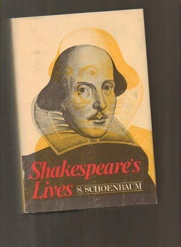 9780195012439: Shakespeare's Lives (Oxford paperbacks)