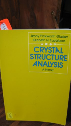 9780195014266: Crystal Structure Analysis: A Primer