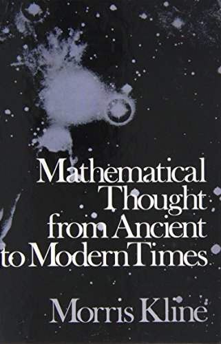 9780195014969: Mathematical Thought from Ancient to Modern Times