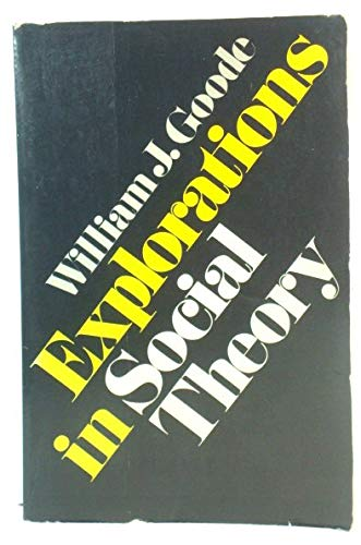 resource theory of william j goode Resources and updates on humanistic psychology in psychotherapy psychology and personal construct theory in f editor), william cobb (translator.