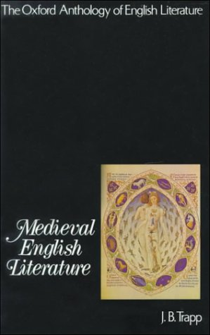 9780195016246: The Oxford Anthology of English Literature: Volume I: Medieval English Literature
