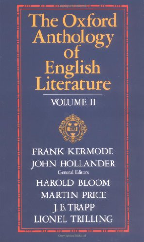 9780195016581: The Oxford Anthology of English Literature. Vols. 4-6 in one volume: 002