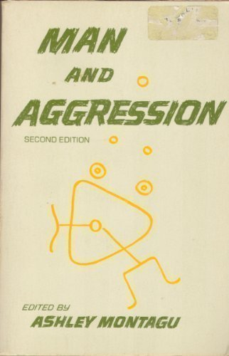 9780195016802: Man and Aggression
