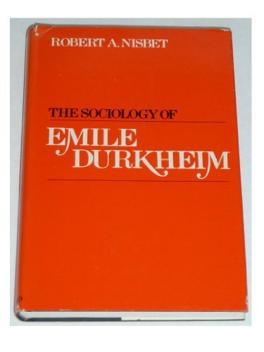9780195017335: The sociology of Emile Durkheim