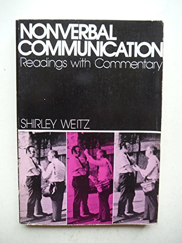 9780195017892: Nonverbal Communication: Readings With Commentary