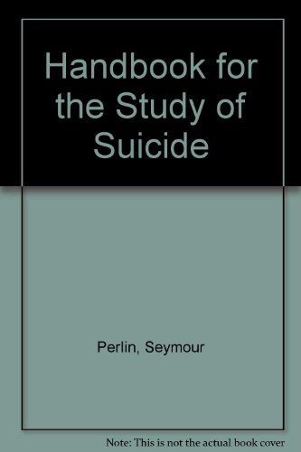 9780195018578: Handbook for the Study of Suicide