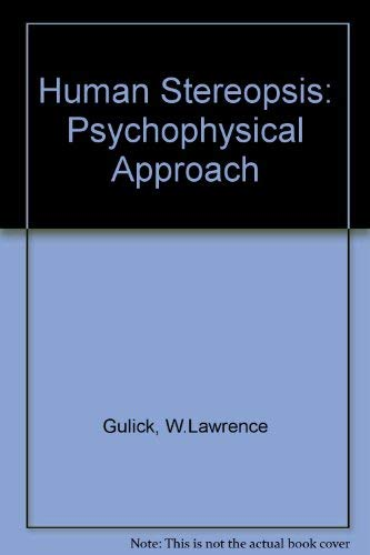 9780195019711: Human Stereopsis: A Psychophysical Approach