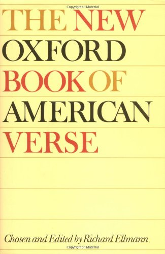 9780195020588: The New Oxford Book of American Verse (Oxford Books of Verse)