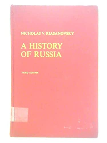 9780195021288: History of Russia