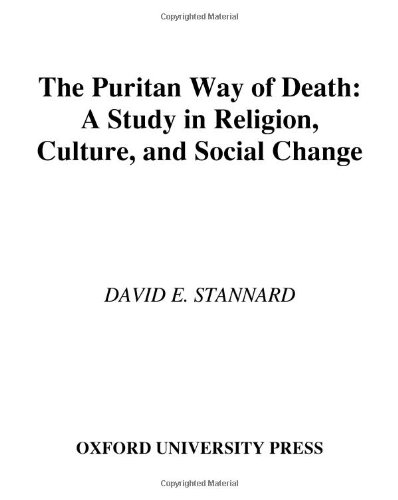 9780195022261: The Puritan Way of Death: A Study in Religion, Culture, and Social Change