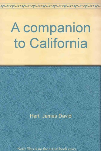 9780195022568: A companion to California