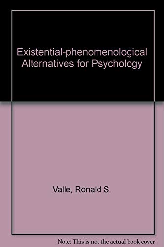 9780195023169: Existential-phenomenological Alternatives for Psychology