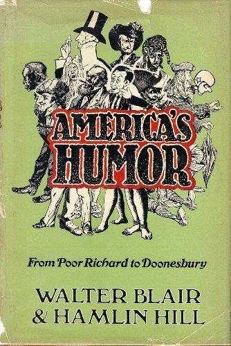 America's Humour [America's Humor] (0195023269) by Walter Blair; Hamlin Hill